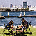 Chess On The Waterfront by Photographic Art by Russel Ray Photos