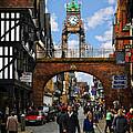 Chester Eastgate Clock by Meirion Matthias