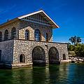 Chester Thordarson Boathouse  by Chuck De La Rosa