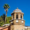 Cheveron Domed Tower 1 by Douglas Barnett
