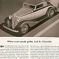 Chevrolet 1933 1930s Usa Cc Cars by The Advertising Archives