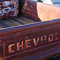 Chevrolet Apache 31 Pickup Truck Tail Gate Emblem by Jill Reger
