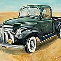 Chevrolet Art Deco Truck by Luke Karcz