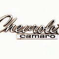 Chevrolet Camaro Emblem by Jerry Fornarotto