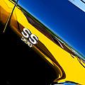 Chevrolet Chevelle Ss 396 Side Emblem by Jill Reger