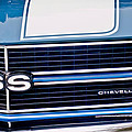 Chevrolet Chevelle Ss Grille Emblem 2 by Jill Reger