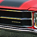 Chevrolet Chevelle Ss Grille Emblem by Jill Reger