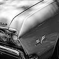 Chevrolet Chevelle Ss Grille Emblems by Jill Reger