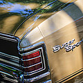 Chevrolet Chevelle Ss Taillight Emblems by Jill Reger