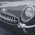 Chevrolet Corvette 1954 by Anna Ruzsan