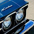 Chevrolet El Camino Hood Emblem - Head Lights by Jill Reger
