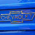 Chevrolet Emblem by Alan Hutchins