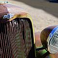 Chevrolet Grille Emblem - Head Light by Jill Reger