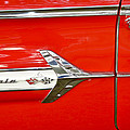Chevrolet Impala Classic In Red by Carolyn Marshall
