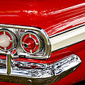 Chevrolet Impala Classic Rear View by Carolyn Marshall