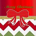 Chevron Christmas by Florene Welebny