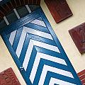 Chevron Door by Gerry Bates