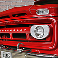 Chevy Beaumont Fire Museum Tx by Christine Till