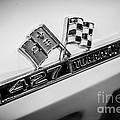 Chevy Corvette 427 Turbo-jet Emblem by Paul Velgos