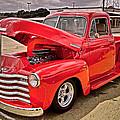 Chevy Hot Red by Joe Fernandez