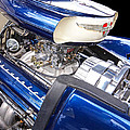 Chevy Hot Rod Engine by Gill Billington