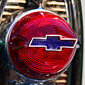 Chevy Red White And Blue by David Lee Thompson
