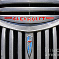 Chevy Truck Grill by Timothy Flanigan
