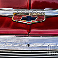 Chevy Truck Logo Vintage by Paul Ward