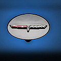 Chevy Vet Gas Cap Emblem by Thomas Woolworth