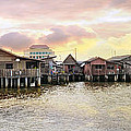 Chew Jetty Heritage Site In Penang by Jit Lim