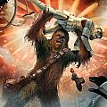 Chewbacca - Star Wars the Card Game by Ryan Barger