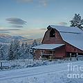 Chewelah Barn by Idaho Scenic Images Linda Lantzy