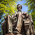 Chicago Abraham Lincoln Sitting Statue by Paul Velgos
