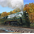 Chicago And North Western Class E-4 by Mark Karvon