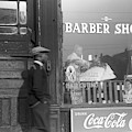 Chicago Barber Shop, 1941 by Granger