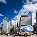 Chicago Bean And Skyline by John McGraw