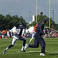 Chicago Bears Hc Marc Trestman Training Camp 2014 02 by Thomas Woolworth