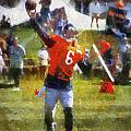 Chicago Bears Qb Jay Cutler Training Camp 2014 04 Photo Art 02 by Thomas Woolworth