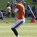 Chicago Bears Qb Jimmy Clausen Training Camp 2014 03 by Thomas Woolworth