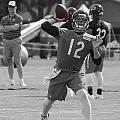 Chicago Bears Qb David Foles Training Camp 2014 Sc 01 by Thomas Woolworth