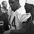 Chicago Bears S Adrian Wilson Training Camp 2014 Bw by Thomas Woolworth