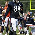 Chicago Bears Te Dante Rosario Training Camp 2014 02 by Thomas Woolworth