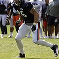 Chicago Bears Te Zach Miller Training Camp 2014 02 by Thomas Woolworth