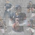Chicago Bears Team by Joe Hamilton