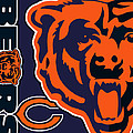 Chicago Bears by Tony Rubino