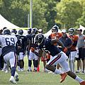 Chicago Bears Wr Brandon Marshall Training Camp 2014 05 by Thomas Woolworth