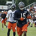 Chicago Bears Wr Brandon Marshall Training Camp 2014 06 by Thomas Woolworth