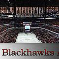 Chicago Blackhawks At Home Panorama Sb by Thomas Woolworth