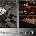 Chicago Blackhawks Before The Gates Open Interior 2 Panel Sb by Thomas Woolworth