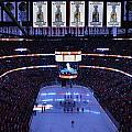 Chicago Blackhawks Please Stand Up by Thomas Woolworth